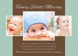 baby thank you cards baby boy and girl birth announcement cards personalised baby
