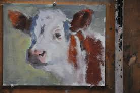 a dynamic animal portrait oil painting demo by phil beck u2013 lori