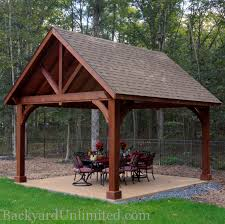 14x14 Outdoor Gazebo by Pavilion Quote Backyard Unlimited