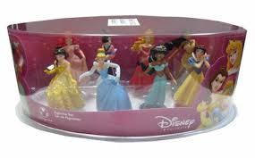 disney princess 8 figurine set toys