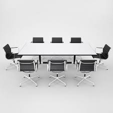 Vitra Boardroom Table Conference Table 3d Obj