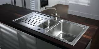 leisure proline pl9852l 1 5 bowl 1th stainless steel inset awesome leisure kitchen sinks photos best interior design ideas