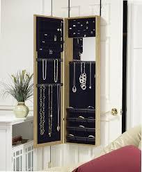 over the door cabinet amazon com plaza astoria over the door wall mount jewelry armoire
