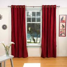 Burgundy Curtains Living Room Curtains 45 Inch Curtains Maroon Curtains Wall Color Burgundy