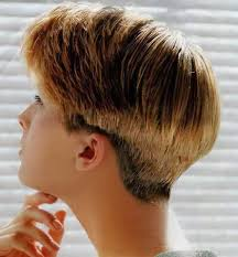back view of wedge haircut hairxstatic short back cropped gallery 1 of 3