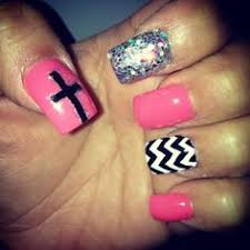 leopard tribal and cross nail designs nails pinterest