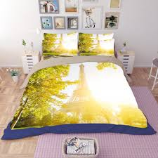 Eiffel Tower Bed Set Compare Prices On Sunshine Duvets Online Shopping Buy Low Price