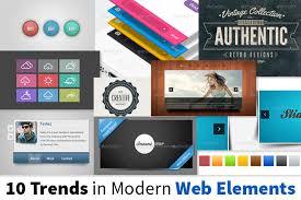 modern web design 10 popular trends in modern web design elements designeus