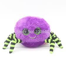 5pcs lot 15cm ty beanie boos big eyes cute purple halloween spider