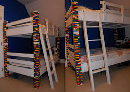 The Brick Bunk Beds Bunk Bed Custom Made With Recycled Lego Bricks Homecrux