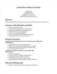 Restaurant Server Resume Template Serving Resume Examples Food Service Server Resume Professional
