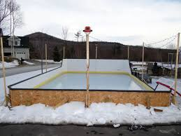 backyard rink no liner outdoor furniture design and ideas