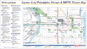 Pennsylvania Map With Cities And Towns by Getting Around Philadelphia Walking Biking Public