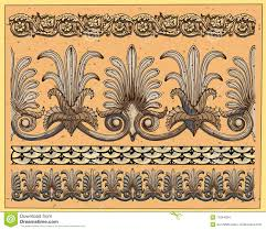 historical ornaments stock images image 11844824