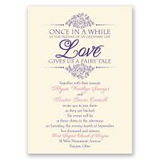 wedding invite verbiage fairy tale invitation invitations by