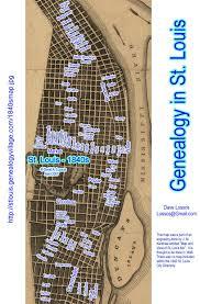 Map St Louis Genealogy In St Louis