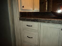 stain kitchen cabinets antique white monsterlune