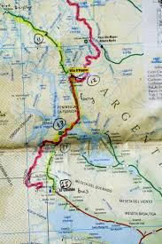 Patagonia South America Map A Wild Patagonian Road Details On How And Why To Cycle The