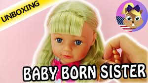 baby hair ties baby born doll big with the tangle teezer comb