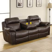 leather reclining sofa loveseat sofas marvelous leather rocker recliner power reclining loveseat