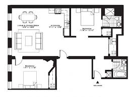 apartments floor plans for two bedroom homes small bedroom