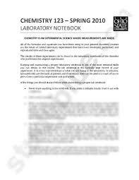 the laboratory notebook pdf chemistry 123 with ricciardo at the