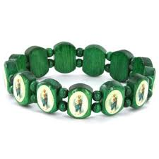 religious bracelet religious bracelets wood buzzjewelry