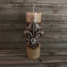 swarovski home decor luxury pillar candle swarovski embellishment candle decorative