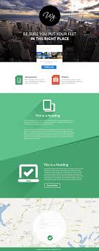 single page brochure templates psd 16 premium and free psd website templates