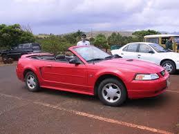 mustang rentals car rental