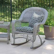 Grey Wicker Patio Furniture by Savannah Gray Wicker Rocker Kirklands