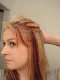 how to put red hair in on the dide with 27 pieceyoutube 30 blonde hair with red highlights ideas