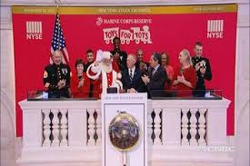 toys for tots rings the closing bell at the new york stock exchange