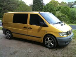 Fs Ot Bike Van 2001 Y Mercedes Vito 112 Cdi Sl500 Wheels