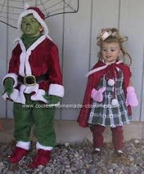 Cindy Loo Hoo Halloween Costumes Step Step Process Achieved Grinch Makeup 1