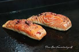 cuisine sur plancha cuisson des poissons