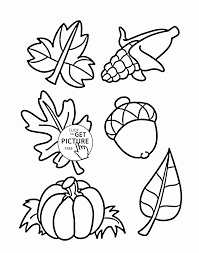 fall things coloring pages for kids autumn printables free