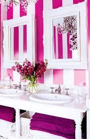 girly bathroom ideas achados de decoração bathrooms pink white and vanity area