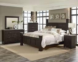 Box Bed Designs In Wood Stonehill Dark Brown Pecan Wood 2pc Bedroom Set W King Kd Poster