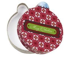 rigid set up box merry ornament box qty 12