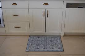 pvc vinyl mat tiles pattern decorative linoleum rug kitchen mat