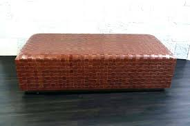 burnt orange coffee table orange ottoman coffee table storage ottoman coffee table burnt