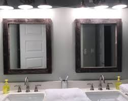 reclaimed wood bathroom mirror reclaimed wood mirror rustic lodge decor bathroom mirrors for