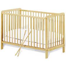 chambre bébé pinolino lit bébé à barreaux 60x120 cm pin massif achat vente lit bébé