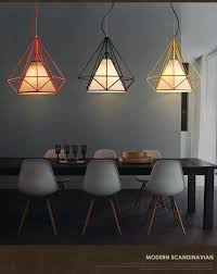 discount droplight of individual character dining room retro