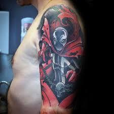 40 spawn tattoo designs for men antihero ink ideas