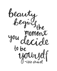 Quote About Lettering Quote Coco Chanel Brush Scripthand Lettering
