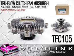 clutch fan suit mitsubishi triton me mf mg mh mj mk 2 5lt 4cyl 3 0