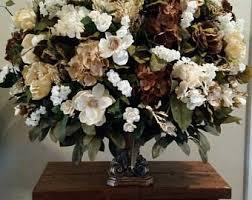 Silk Flower Arrangements For Office - foyer arrangement etsy