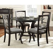 wayfair glass dining table modern glass dining room sets kitchen table and chairs set round